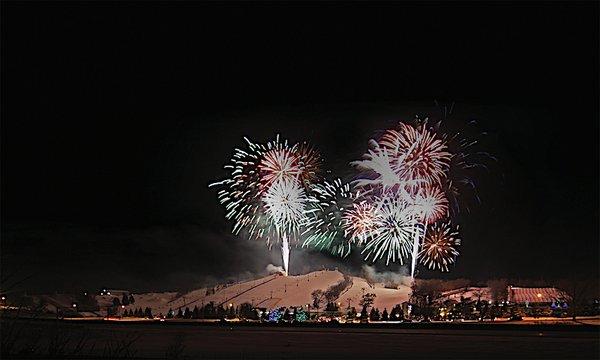 Buck Hill Fireworks