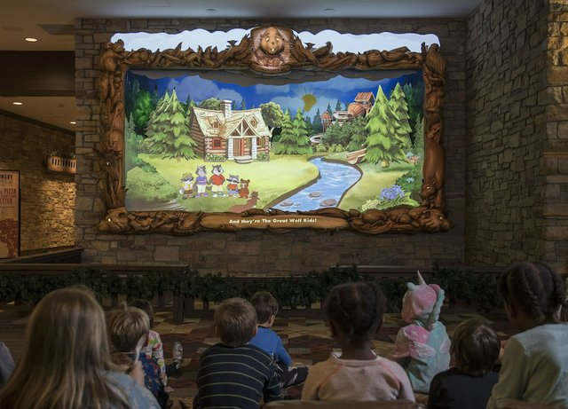 Northwoods Friends Show at Great Wolf Lodge