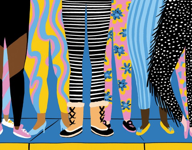 Activewear illustration