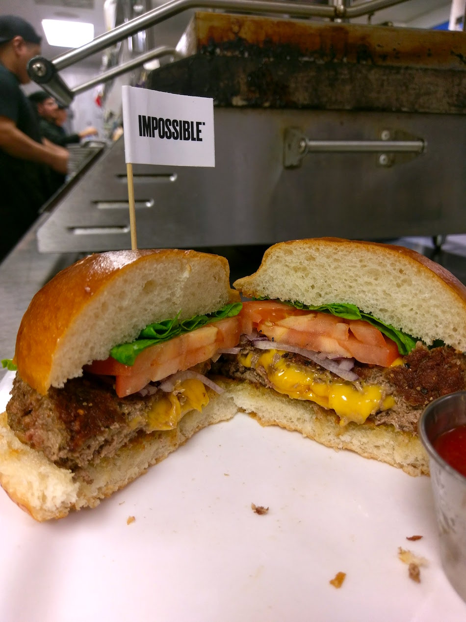 The Impossible Burger is Here and I Ate It
