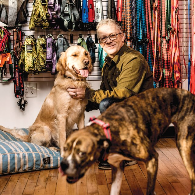 Ken Goldman of Stunt Puppy