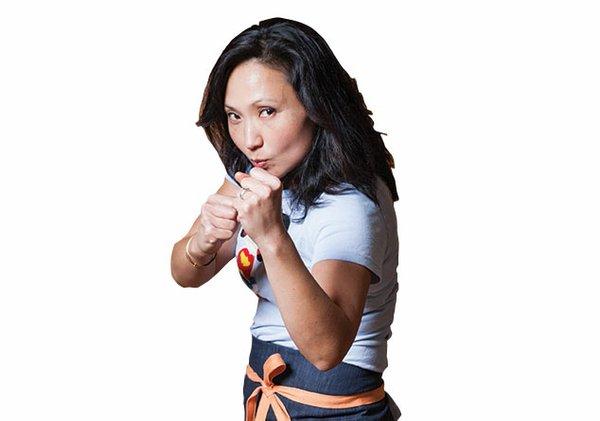Chef Ann Kim Super Bowl Battle