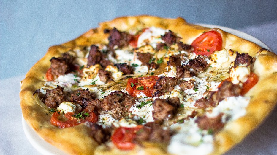 Fennel Sausage Pizza