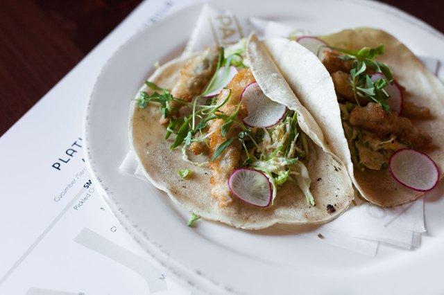 Tacos at Pajarito