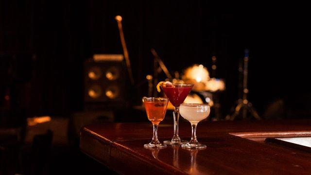 Cocktails at Vieux Carre