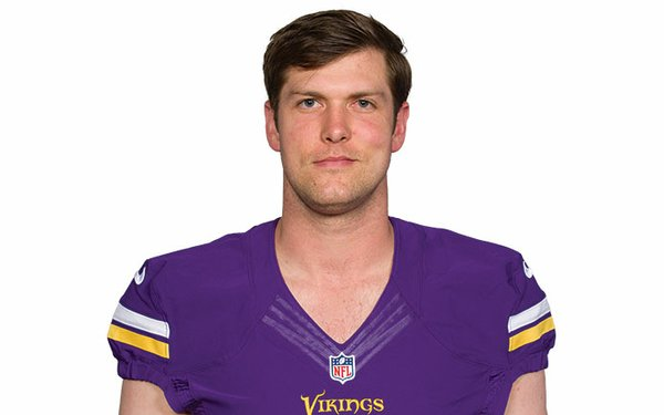 Vikings Long Snapper Kevin McDermott