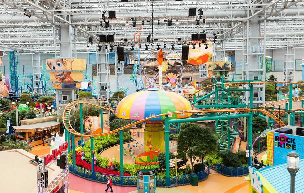 Moa S Nickelodeon Universe Celebrates 10 Years With A 10