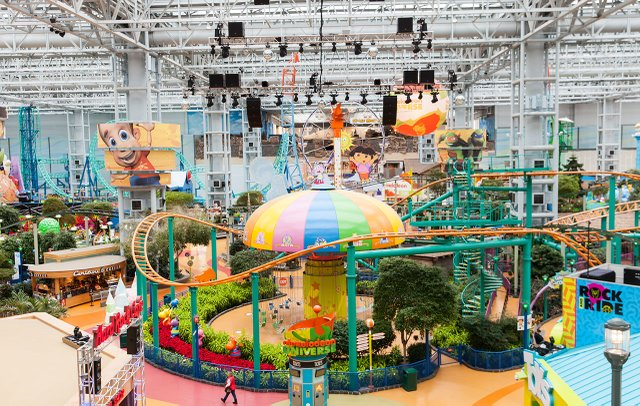Image result for Nickelodeon Universe