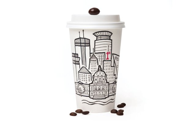 Coffee mug illustration