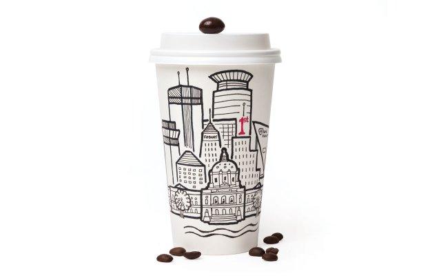 Coffee mug illustration