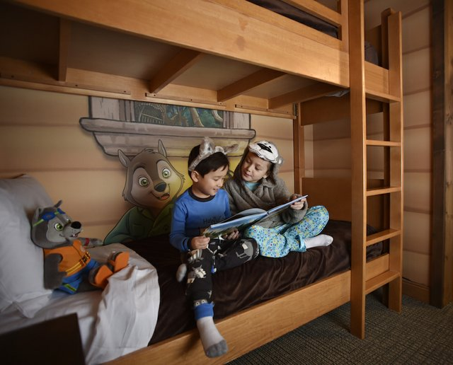 Kid Cabin at Great Wolf Lodge