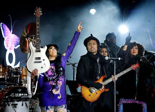 Prince Night at Super Bowl Live