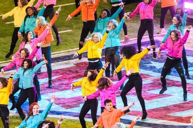 Dance Teams Super Bowl Halftime Show