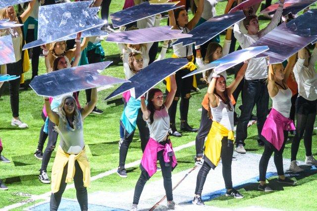 Mirrors Dancers at Super Bowl Halftime Show