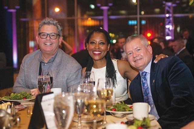 Michael Francis, Laysha Ward and Bill Kiffmeyer