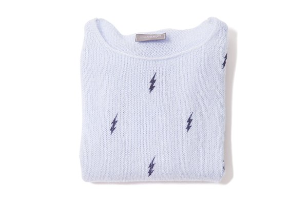 Lightning bolt sweater also from Stephanie's