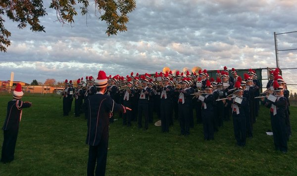 Orono High School marching band