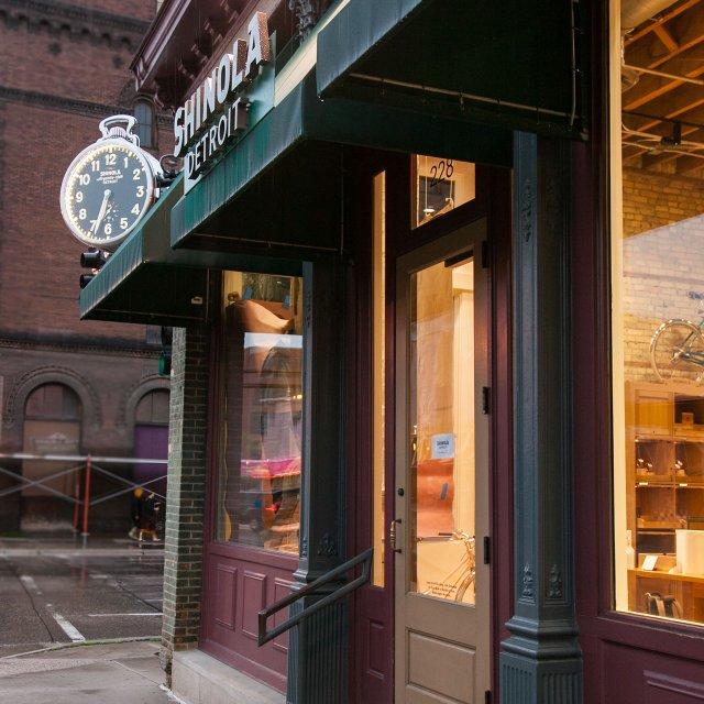 Shinola storefront