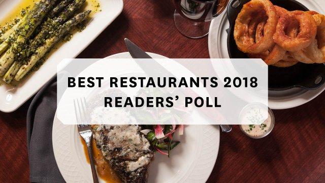 Best Restaurants Readers Poll 2018