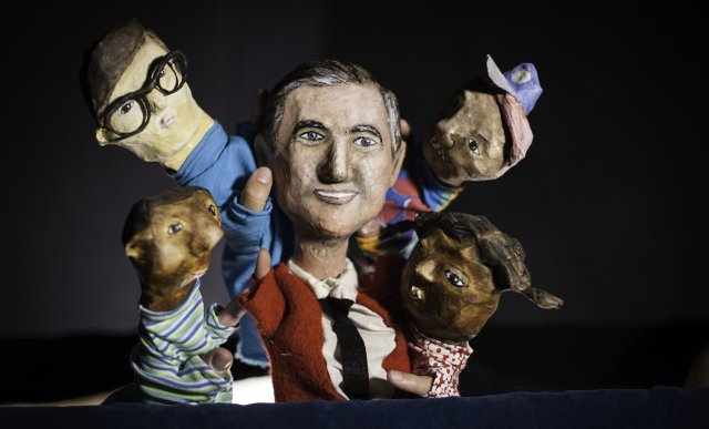 Make Believe Neighborhood puppets at In the Heart of the Beast Puppet and Mask Theatre
