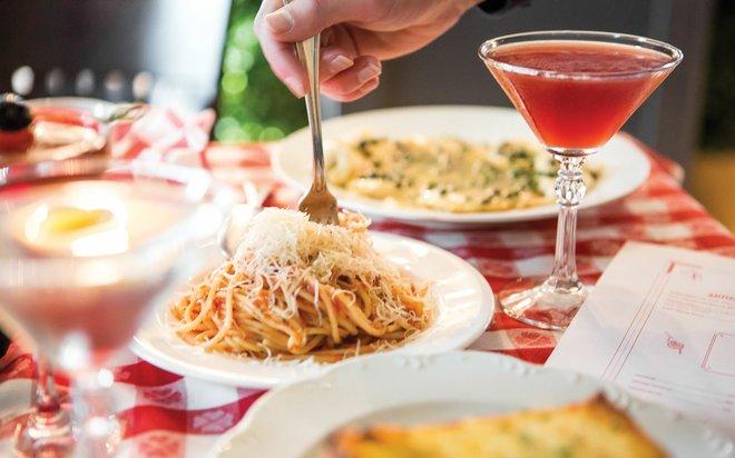 Spagetti at Mama DeCampo's