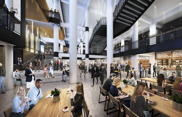 Dayton's Project Rendering - Food Hall