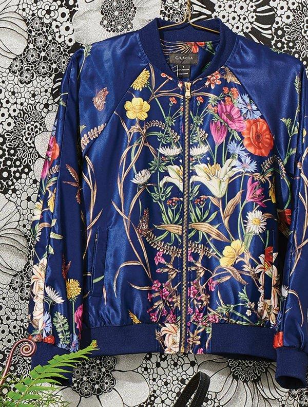 bomber jacket by Gracia
