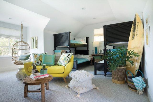 Bunkroom inside 2017 ASID Showcase Home.