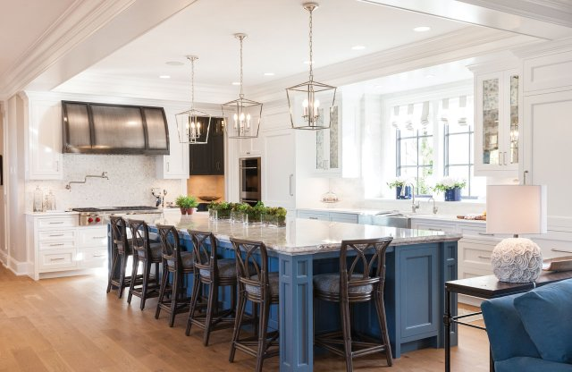 Kitchen inside 2017 ASID Showcase Home.