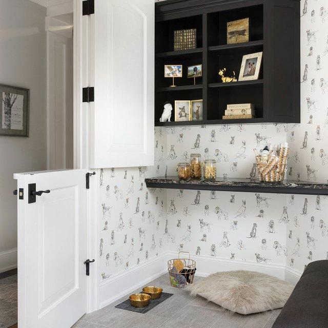 Dog's room inside 2017 ASID Showcase Home.