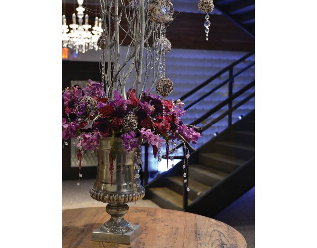 Floral Display for Event from Bachman's