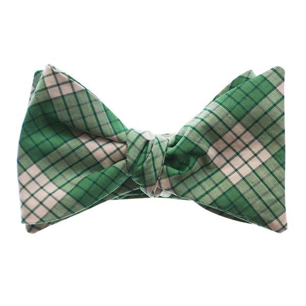 Green bowtie.