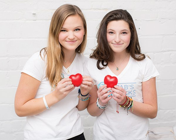 Abbie Nelson and Pia Phillips