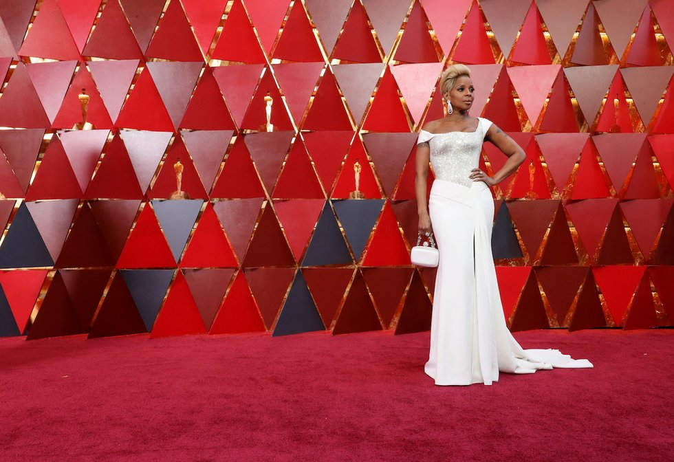 Mary J Blige at 2018 Academy Awards