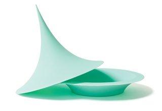 Green POKE silicone vessel from Walker Art Center.