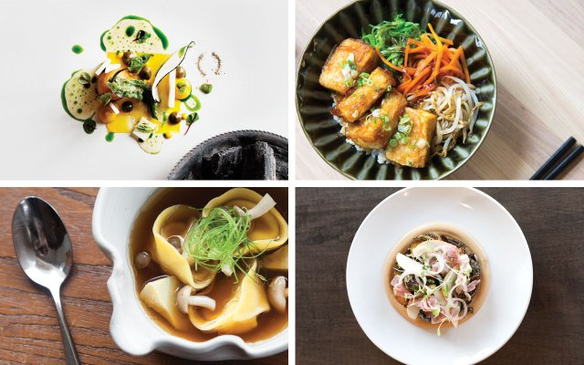 Dishes from Corner Table, Kado No Mise, Tenant, Travail