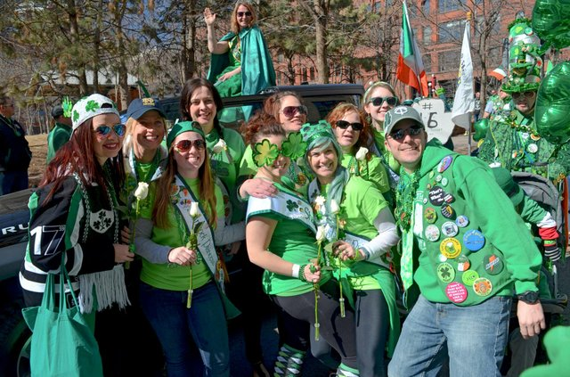 St. Patrick's Day Parade in St. Paul is fun for friends and family.