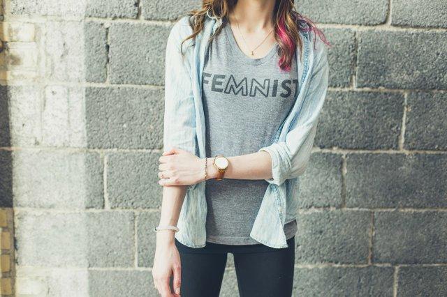 Still Kickin FeMNist t-shirt