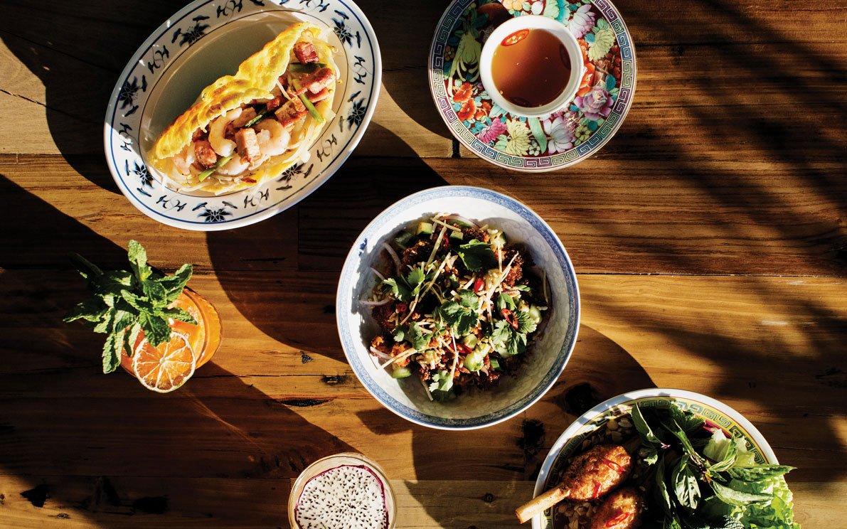 Dishes at Hai Hai
