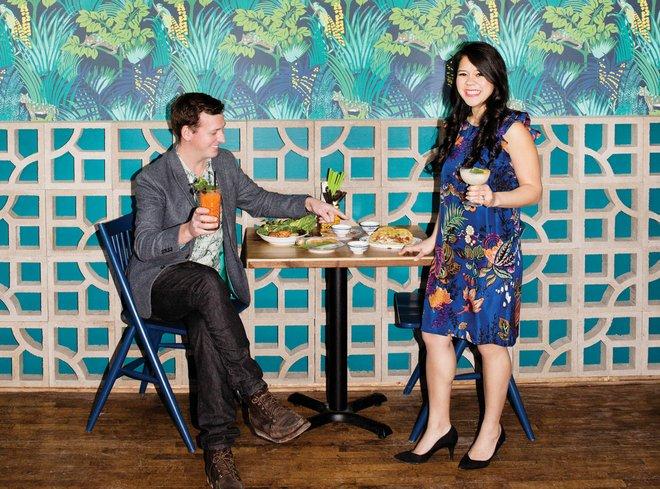 Chef Christina Nguyen at Hai Hai
