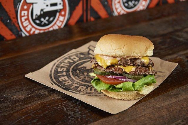 ClusterTruck Mug Double Burger
