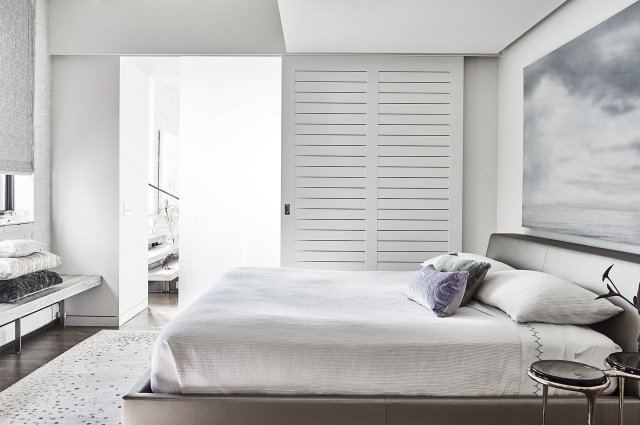 Inside bedroom.