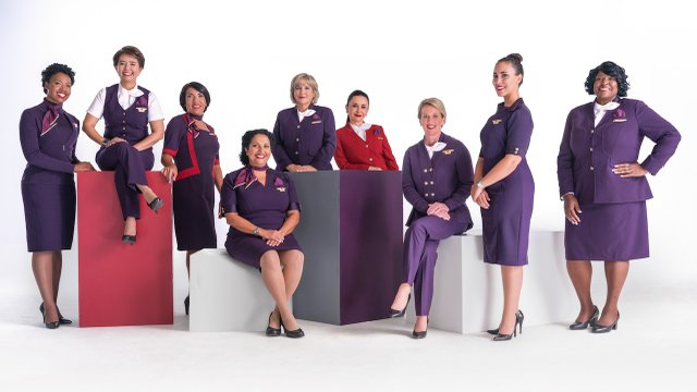 Delta Airlines new uniforms