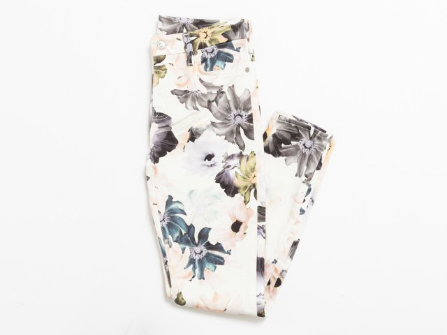 Floral pants by 7 For All Mankind