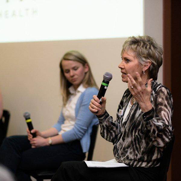 Karen Palmer at Healthmakers