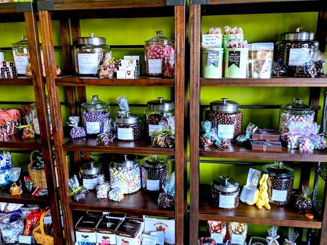 Easter shelves at Golden Fig