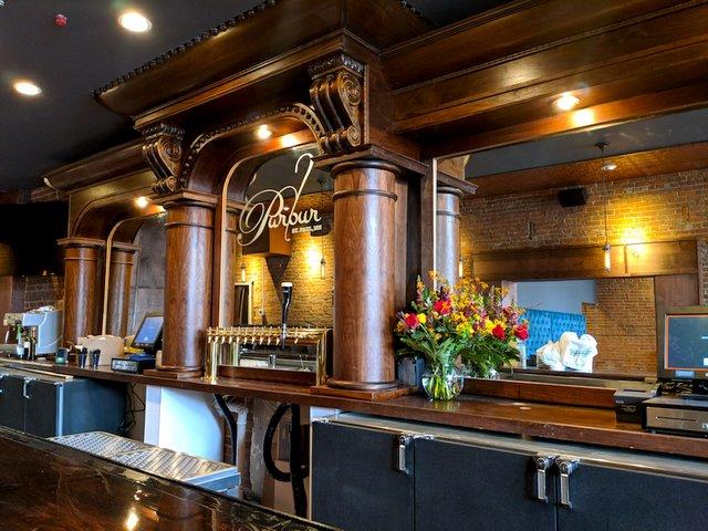 Parlour St. Paul wood bar