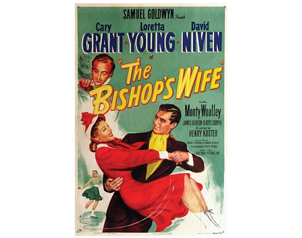 Cary Grant and Loretta Young in The Bishop's Wife, movie poster