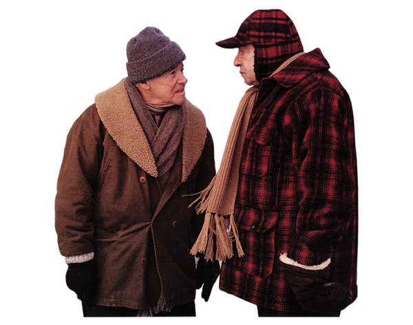 Jack Lemmon and Walter Matthau in Grumpy Old Men