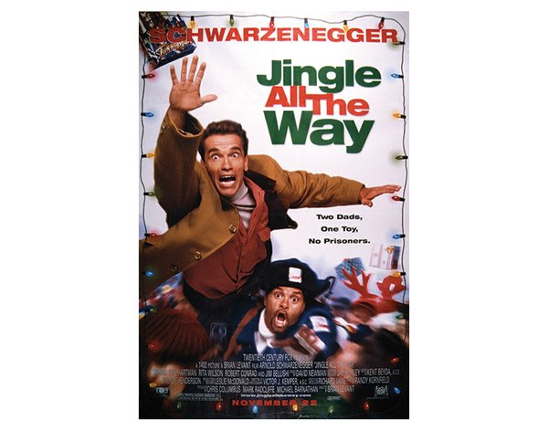 Schwarzenegger in Jingle All the Way